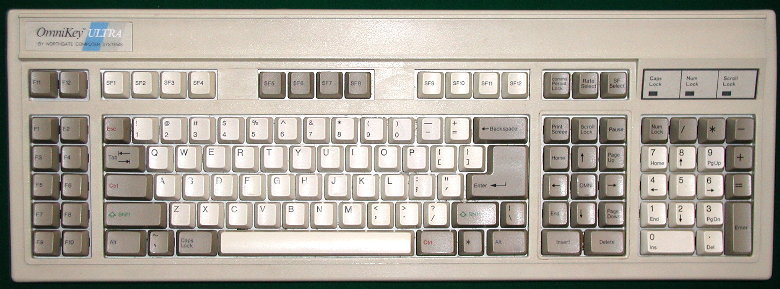 Het Omnikey Ultra toetsenbord