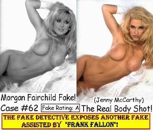Fake detective - Morgan Fairchild