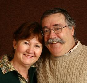 Bert Bolle en zijn vrouw Ethne