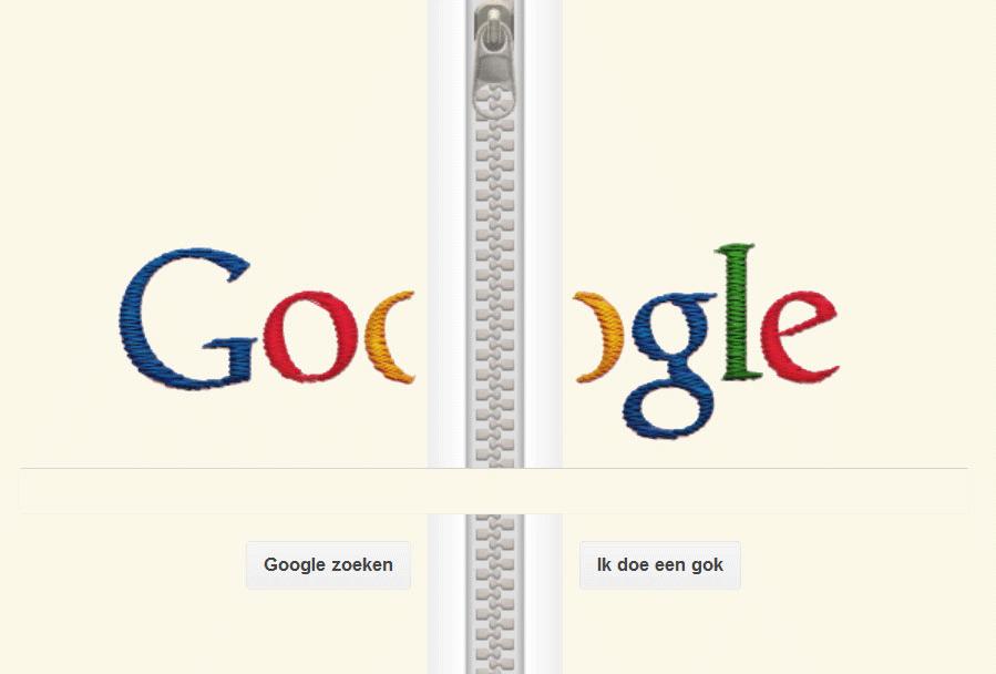 Ritssluiting bij Google