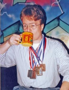 Medailles van Appie van de Marathon van New York