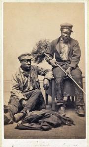 Afrikaanse schoorsteenvegers rond 1900, geen zwarte piet