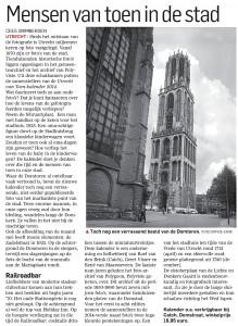 Het Utrecht van Cees Grimbergen - over de Kalender van Toen