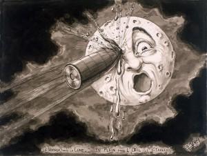 Goochelen en de beroemde montage van Georges Méliès in de film 'La Voyage dans la Lune'
