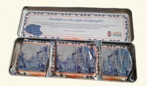 postcodeloterij stroopwafels in blik