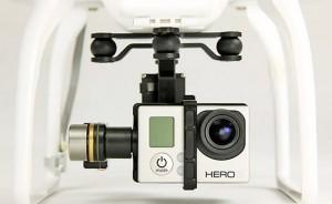 een drone met camera