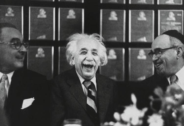 Einstein en de beste mop ter wereld