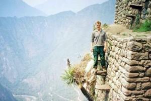 trappen, nou ja de Inca trail in Peru