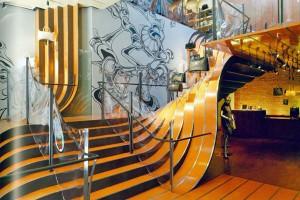 Longchamp Store NY trappen
