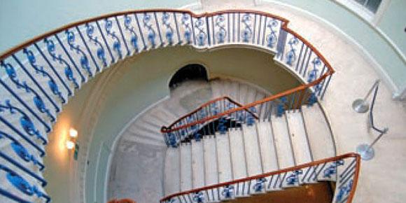 Het spook op de trap
