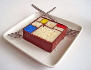 Mondriaan in een gebakje van Caitlin Freeman