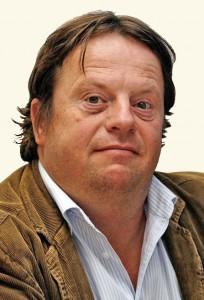 Bert van der Roest - onderuit en nagetrapt
