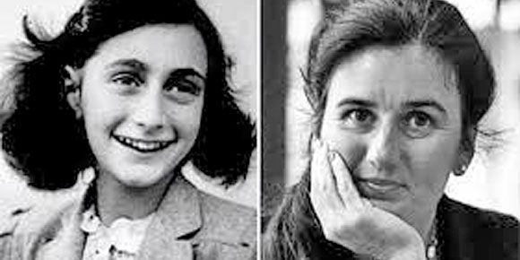 Anne Frank vs Barbro Karlan