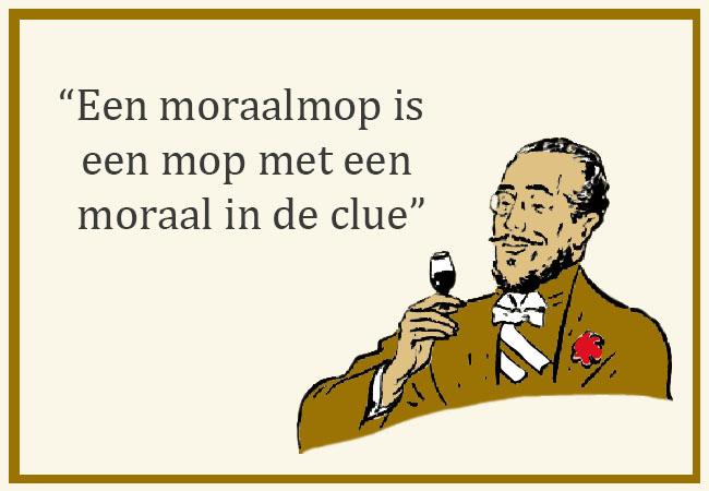 een moraalmop