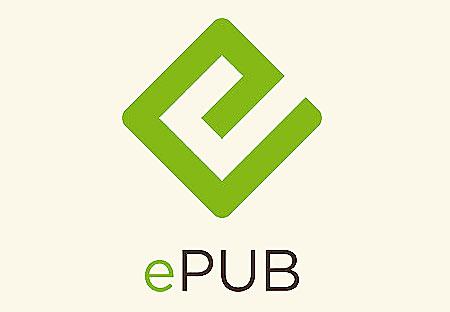 Het officiële ePUB logo