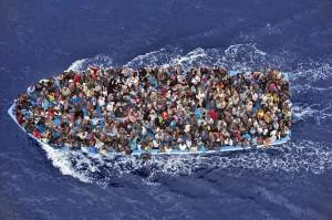 World Press Photo 2015 - bootvluchtelingen