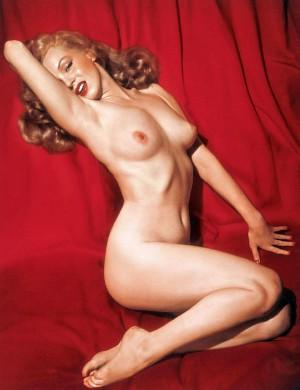 Marilyn Monroe kalenderfoto in de eerste Playboy