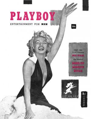 omslag van de eerste Playboy november 1953