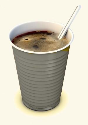 Een bekertje koffie