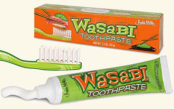 Wasabi tandpasta