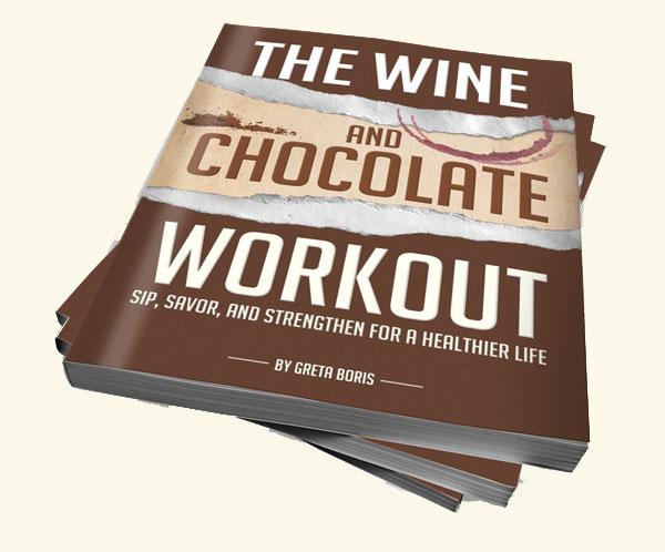 Wijn chocolade en trainen