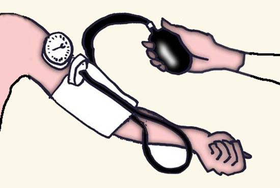 bloeddruk meten