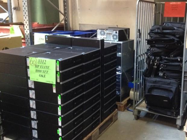 HP-computer na recycling