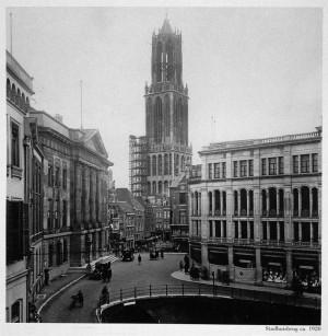 Stadhuisbrug Utrecht 1927