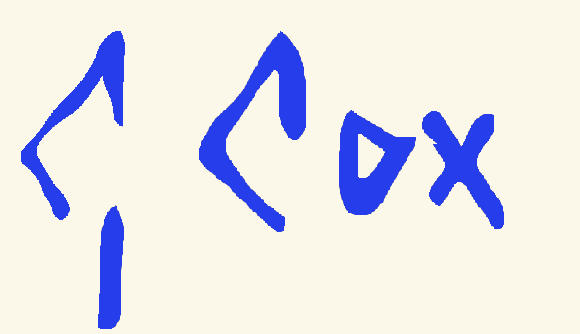 Ondertekening Gerard Cox jr.