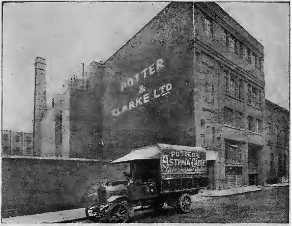 Potter & Clark factory 1926