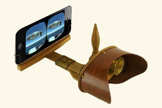 virtual reality met oude stereokijker
