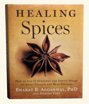 Omslag van boek 'Healing Spices'
