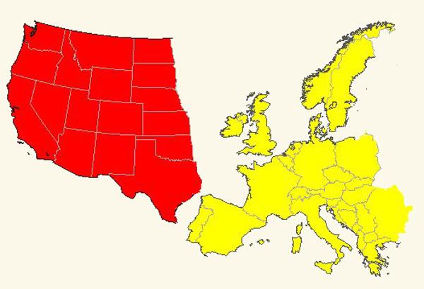 Verenigde Staten kunnen Europa opslokken