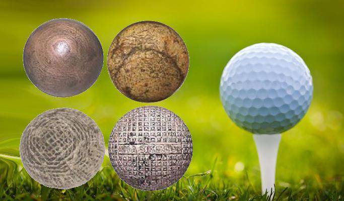 Golfballetje geschiedenis
