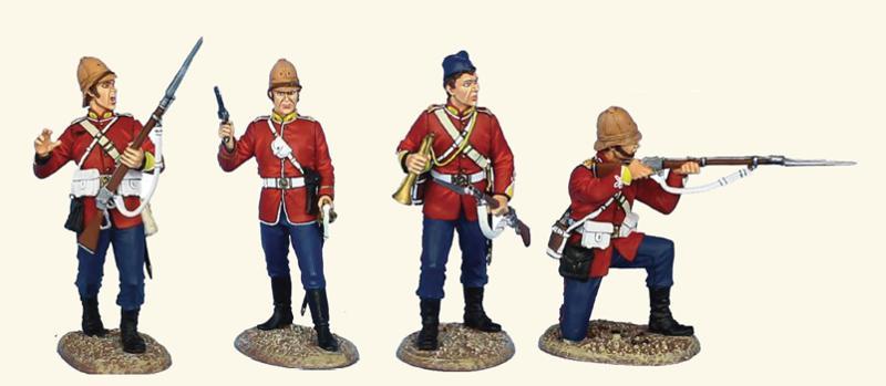 Britse speelgoed soldaatjes