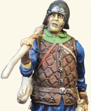 Speelgoed soldaatjes - Engelse Longbowman