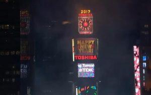 Nieuwjaarsavond 2017 Times Square