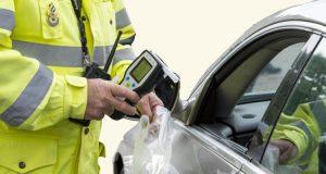 dronken zonder alcohol - politiecontrole