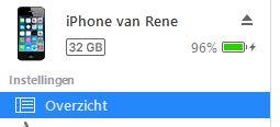 iPhone als mp3-speler