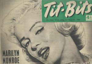 Omslag Titbits magazine 1960