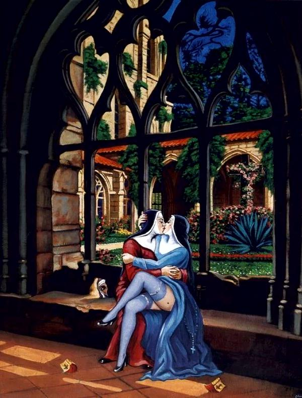 De nonnen van Clovis