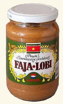 Faja-Lobi Surinaams pindakaas