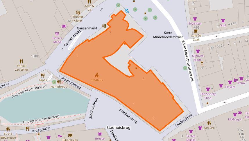 gratis stratenkaart stadhuis utrecht