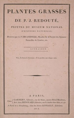 Pierre-Joseph Redouté - titelblad