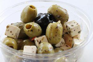 Bakje olijven
