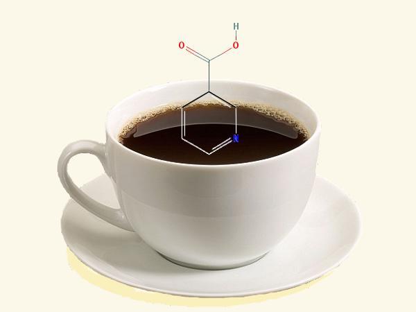 koffie daar zit wat in