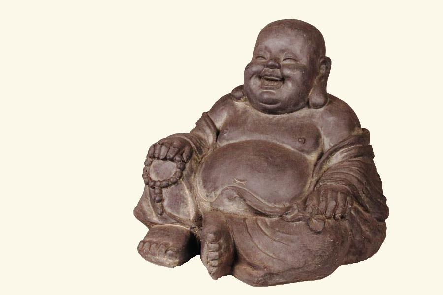 Gelukkig zijn als Buddha