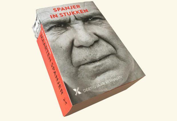 Maarten Spanjer boek Spanjer in stukken