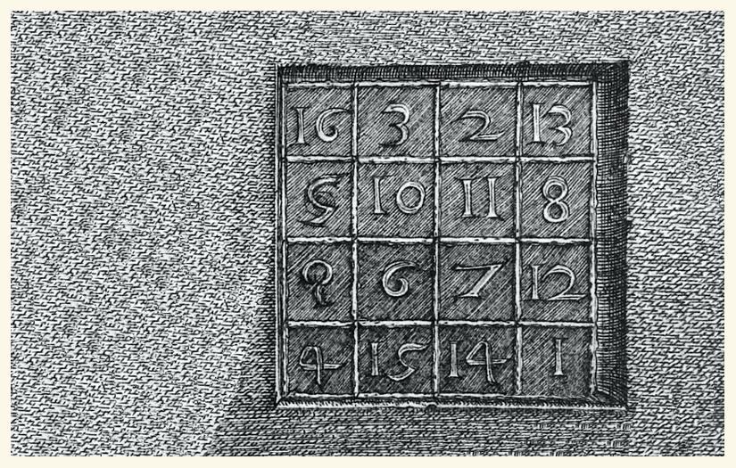 sudoku voorloper van Albrecht Dürer