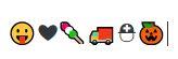 emoticons bij sneltoetsen